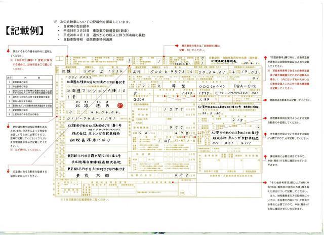 北海道版自動車税申告書記入例.jpg